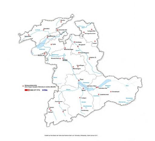 012 SBB Stuetzpunktbahnhöfe / CFF Gares d'appui équipées d'élévateurs mobiles / BE